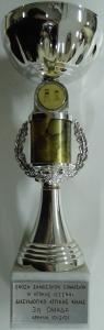 Διασυλλογικό Κύπελλο Αττικής Φιλίας Σκάκι 2000, 3η θέση
