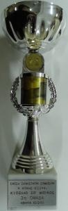 """Διασυλλογικό Κύπελλο Σκάκι """"Σπύρος Μπίκος"""" 2000, 3η θέση"""