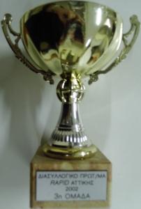 Διασυλλογικό Σκακιστικό Πρωτάθλημα Rapid Αττικής 2002, 3η θέση
